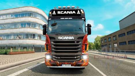 Lightbar Scania für Euro Truck Simulator 2
