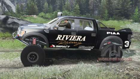 Ford Raptor Pre-Runner [03.03.16] pour Spin Tires