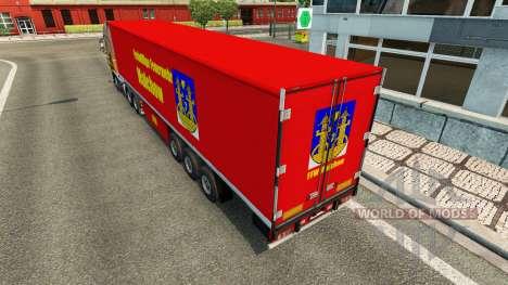 Haut auf FFW Malchow trailer für Euro Truck Simulator 2