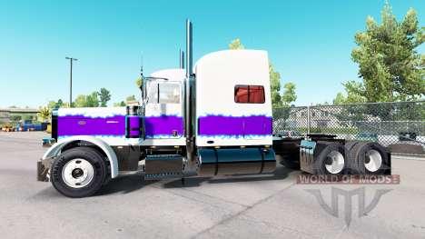 La Perle de la peau pour le camion Peterbilt 389 pour American Truck Simulator