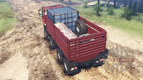 Tatra Phoenix T 158 8x8 custom für Spin Tires