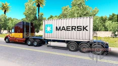 Semi-container-Schiff Maersk für American Truck Simulator