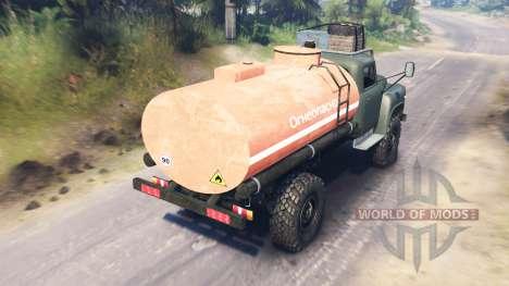 GAZ-53 v03.02.16 pour Spin Tires