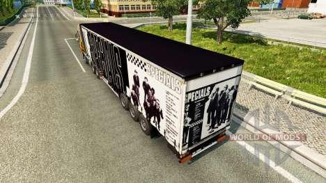 La peau Promos sur la remorque pour Euro Truck Simulator 2