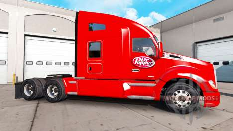 Haut Dr Pepper auf einem Kenworth-Zugmaschine für American Truck Simulator