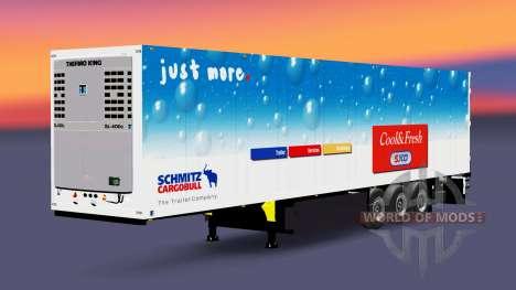 Auflieger-Schmitz Cargobull für Euro Truck Simulator 2