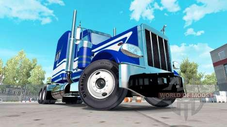 Haut-Jack Moss C Trucking Inc. Peterbilt für American Truck Simulator