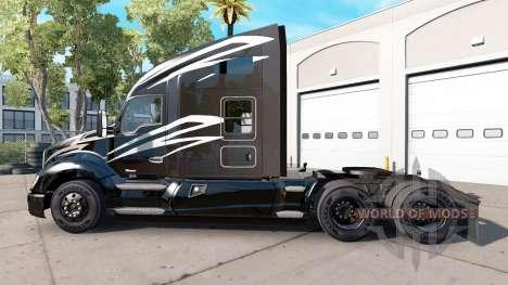 Haut-Welten am Besten auf einem Kenworth-Zugmasc für American Truck Simulator