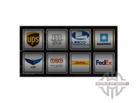 Echte Firmenlogos für American Truck Simulator