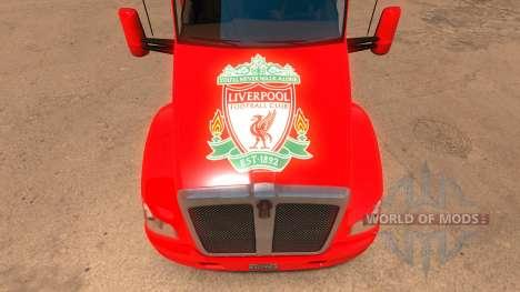 Liverpool Kenworth T680 Skin pour American Truck Simulator
