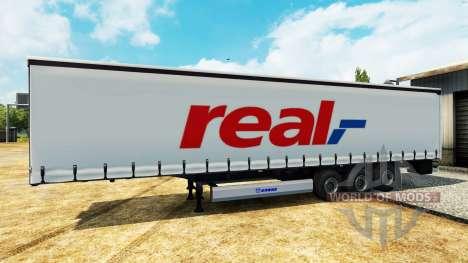 Eine Sammlung von skins für semi-Trailer für Euro Truck Simulator 2