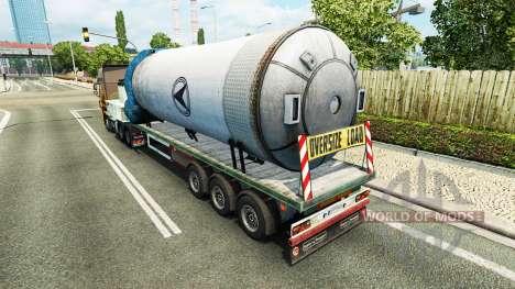 Semi-Druckbehälter für Euro Truck Simulator 2