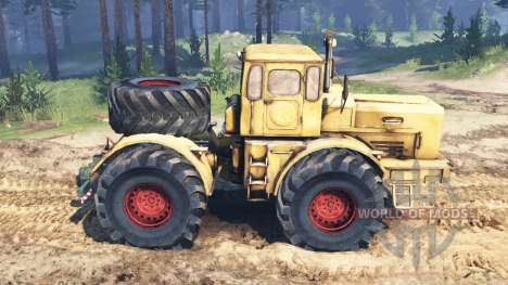 K-700 Kirovets pour Spin Tires