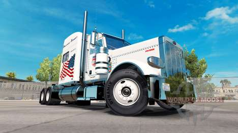 Powerhouse Transport skin für den truck-Peterbil für American Truck Simulator