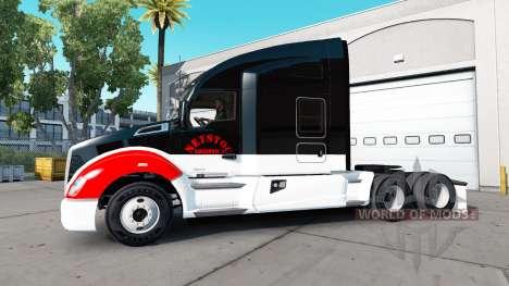 Netstoc Logistica Haut für die Kenworth-Zugmasch für American Truck Simulator