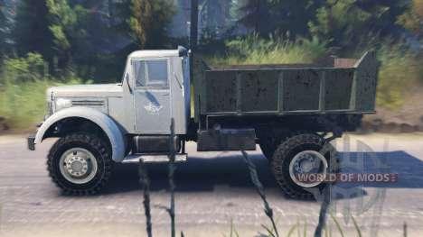 MAZ-502 für Spin Tires