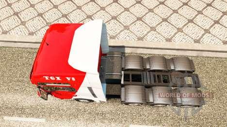 MAN TGX 8x4 pour Euro Truck Simulator 2