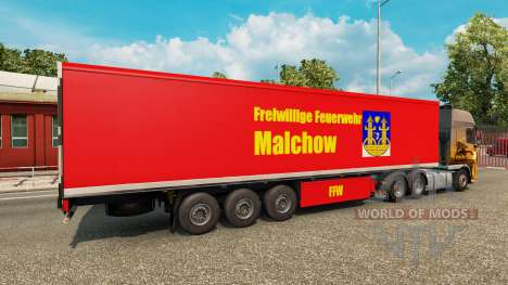 La peau sur VCT Malchow remorque pour Euro Truck Simulator 2