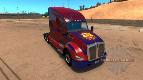 Kenworth T680 Barcelona Skin pour American Truck Simulator