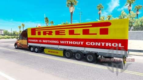 Pirelli Haut für einen Anhänger für American Truck Simulator