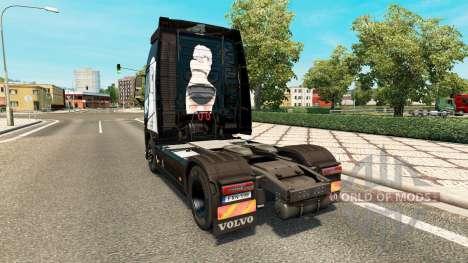 Infinite Stratos de la peau pour Volvo camion pour Euro Truck Simulator 2