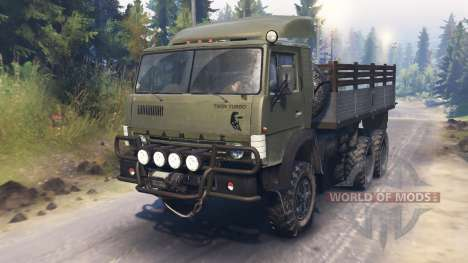 KAMAZ-4310 [twin turbo] für Spin Tires