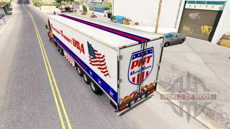 Centrale semi-remorque de Transport-UNIS pour American Truck Simulator
