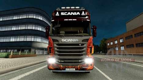 Barre De Guidage Scania pour Euro Truck Simulator 2