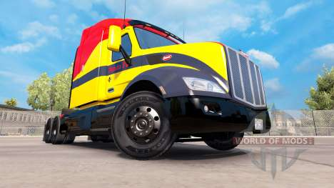 Santa Fe de la peau pour le camion Peterbilt pour American Truck Simulator