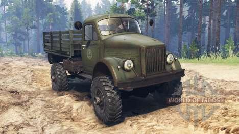 GAZ-63M pour Spin Tires