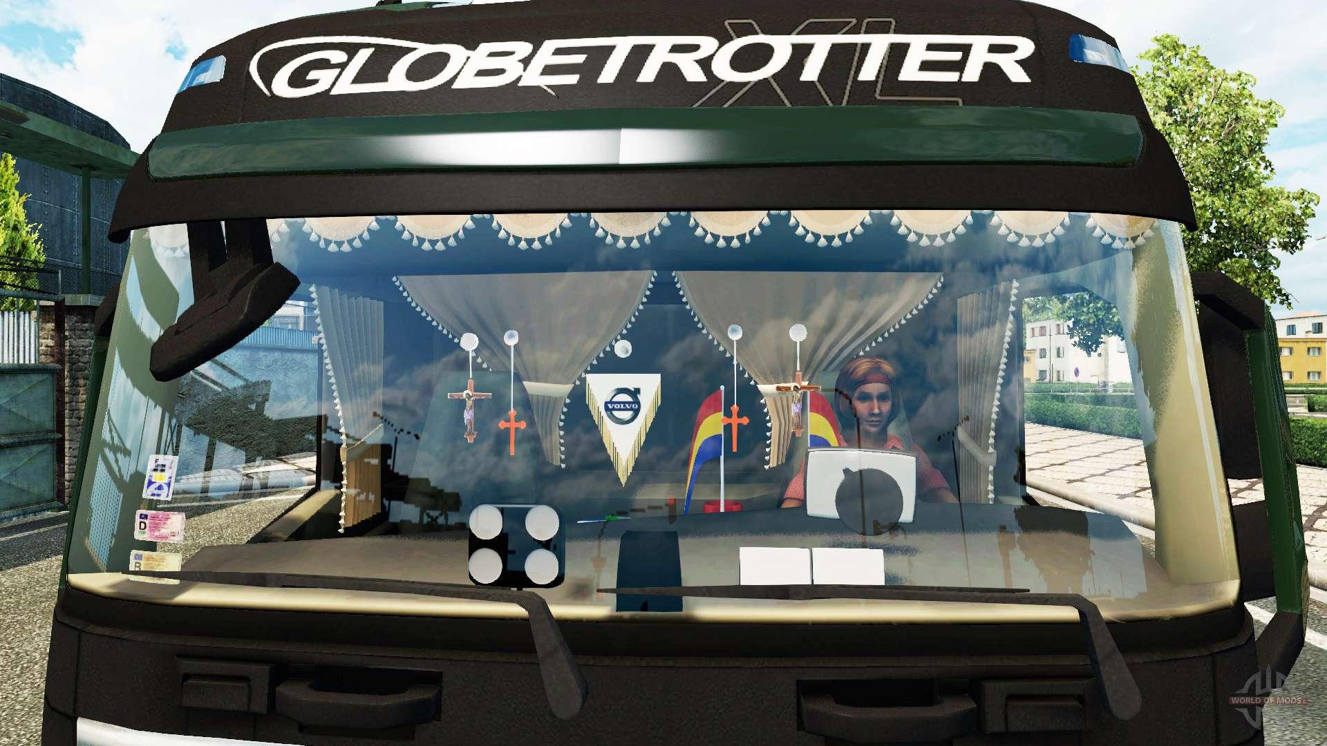 Aktualisiert Innenraum Volvo FH für Euro Truck Simulator 2