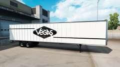 La peau de Las Vegas pour le semi-remorque