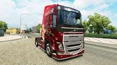 Noël de la peau pour Volvo camion