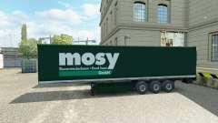 Haut Mosy auf semi-trailer