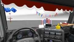 Das neue Interieur ist von Iveco-LKW