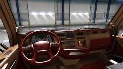 Die Luxus-Interieur Peterbilt 579