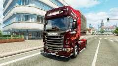 Weihnachts skin für Scania-LKW