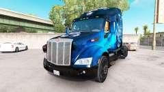Scorpio Blue skin für den truck Peterbilt