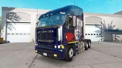 La peau de Poutine sur le camion Freightliner Ar