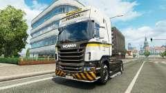 Wallek skin für Scania-LKW