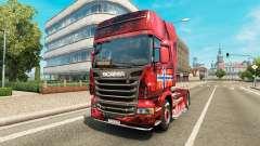 Norwegen skin für Scania-LKW