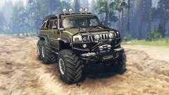 Hummer H2 6x6