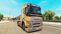 La peau sur la Nébuleuse Grunge Volvo trucks
