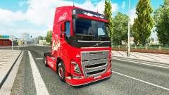 Skin Coca-Cola, Volvo, traktor