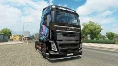 Mal des Yeux la peau pour Volvo camion
