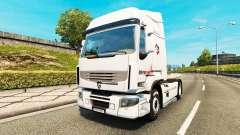 Intermarché de la peau pour Renault camion