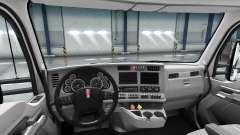 Neu gestaltete Interieur des Kenworth T680