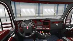 Die Deluxe black interior Kenworth T680