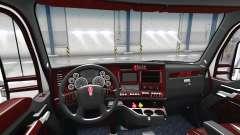 Le Luxe intérieur noir Kenworth T680