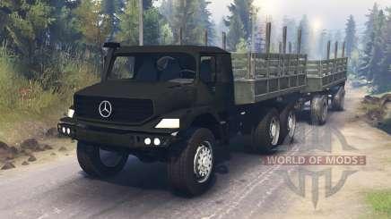 Mercedes-Benz Zetros 2733 pour Spin Tires